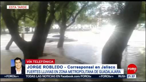Foto: Lluvia Afecta Metropolitana Guadalajara 15 Julio 2019