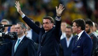 Imagen: Bolsonaro descartó la deportación del periodista, 27 de julio de 2019 (Getty Images, archivo)