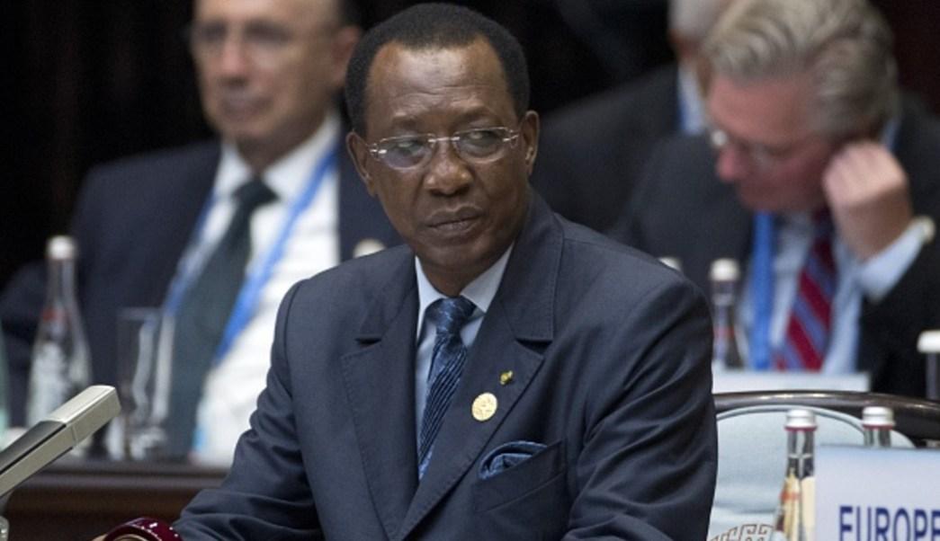 Imagen: El Presidente de Chad, Idriss Deby, anunció el restablecimiento de las redes sociales, 13 de julio de 2019. (Getty Images, archivo)