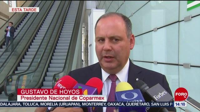 Foto: Gobierno federal debe enviar señales de certidumbre: Coparmex