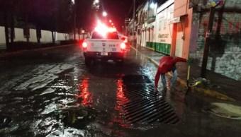 Foto: granizada en San Miguel de Allende, 1 de julio 2019. Twitter @GobSMA