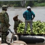 Foto: operativos de la Guardia Nacional en el río Suchiate, 3 de julio 2019. EFE