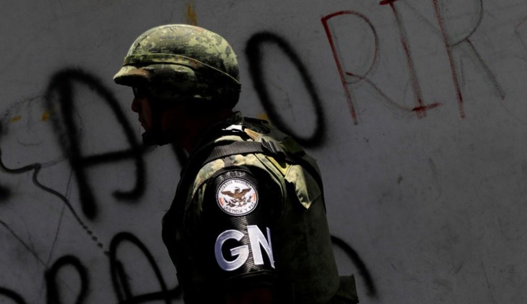 Foto: Miembro de la Guardia Nacional, 5 de junio de 2019, Ciudad de México