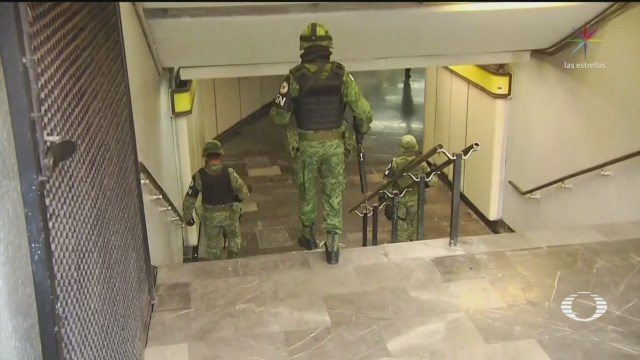 Foto: Video Guardia Nacional Metro Cdmx 30 Julio 2019