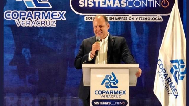 Foto: Gustavo de Hoyos condenó la ampliación de mandato en Baja California, 24 de julio de 2019 (Twitter @Coparmex)