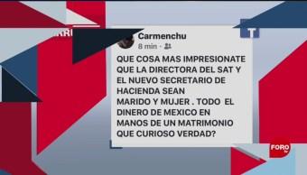 Foto: Hacienda Secretario Noticias Falsas 15 Julio 2019