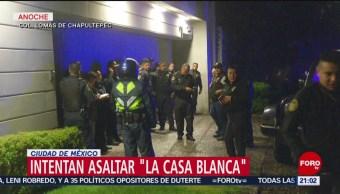 Foto: Detenidos Intento Asalto Casa Blanca 19 Julio 2019