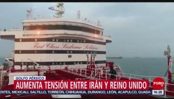 FOTO: Hay presión mundial para que Irán libere buque petrolero británico, 21 Julio 2019