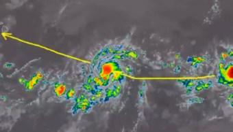 IMAGEN Huracán 'Erick' amenaza Hawái y tormenta 'Flossie' se fortalece (NOAA/Twitter)