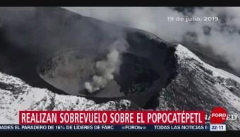 FOTO: Identifican posible destrucción de un domo en el Popocatépetl, 21 Julio 2019