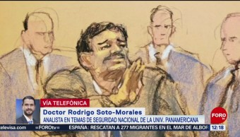 """Implicaciones de la sentencia de cadena perpetua contra """"El Chapo"""" Guzmán"""