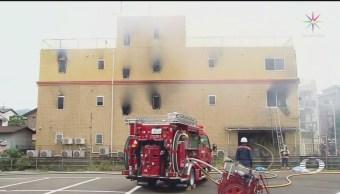 Foto: Incendio Estudio Animación Kyoto Japón 18 Julio 2019