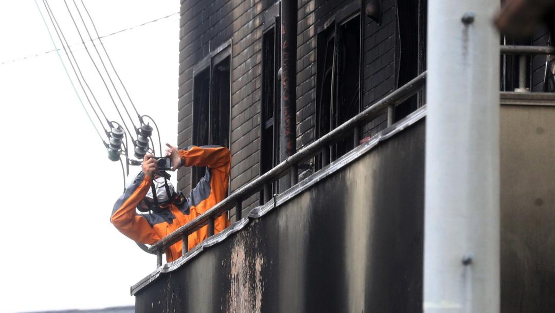 FOTO Plagio de novela motivó incendio de Kyoto Animation studio (EFE)