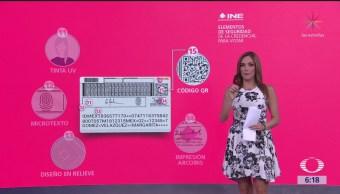 INE integra nuevos elementos a la credencial para votar