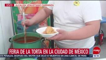 FOTO: Inicia feria torta alcaldía Venustiano Carranza