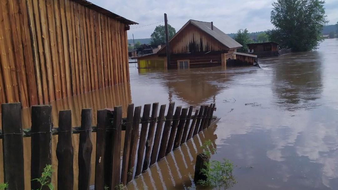 Foto: Inundaciones a Irkutsk, Rusia, 30 de junio de 2019, Rusia