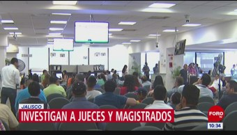 Investigan 7 nuevos casos de jueces y magistrados por casos de corrupción