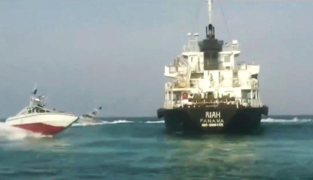 Foto: Irán captura a buque petrolero, 18 de julio de 2019