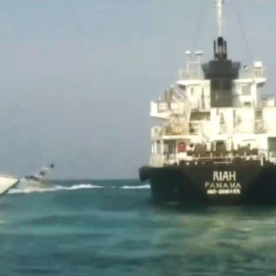 Irán captura a buque petrolero extranjero en el estrecho de Ormuz
