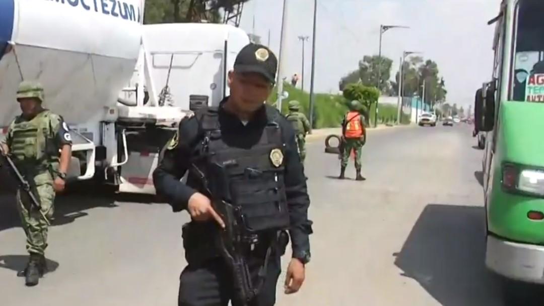 Foto: Guardia Nacional realiza retenes en Iztapalapa, 5 de julio de 2019, Ciudad de México
