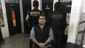 Foto: Javier Duarte luego de su detención en Guatemala, 15 de abril de 2017, Guatemala