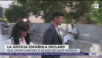 Javier Sánchez sí es hijo de Julio Iglesias