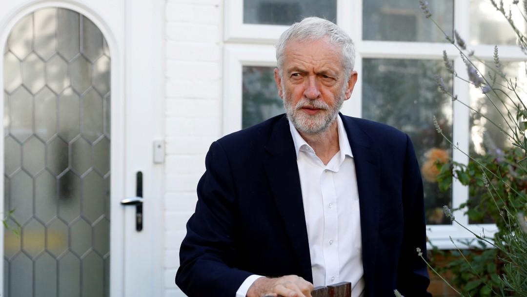 Foto: Jeremy Corbyn, líder del Partido Laborista británico, 15 de julio de 2019, Inglaterra