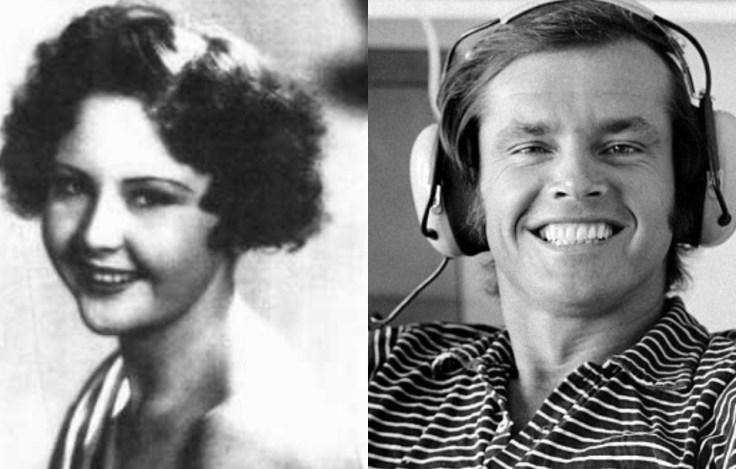 June Frances Nicholson y Jack Nicholson, madre e hijo. (Getty images)