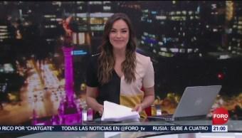 Foto: Las Noticias Danielle Dithurbide Forotv 23 Julio 2019
