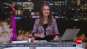 Foto: Las Noticias Danielle Dithurbide Forotv 5 Julio 2019