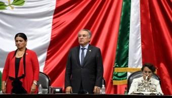 Foto Ley de Extinción de Dominio, turnada al Ejecutivo para publicación. 29 julio 2019