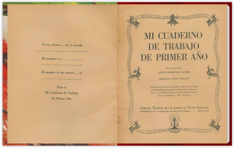 libro de texto 1960 primer año