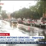 Foto: Lluvia Fuerte Zona Centro CDMX 31 Julio 2019