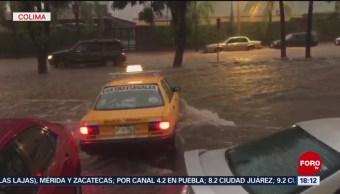 Lluvias en Colima dejan afectaciones en cinco municipios