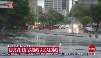 FOTO: Lluvias en varias alcaldías de la Ciudad de México, 20 Julio 2019