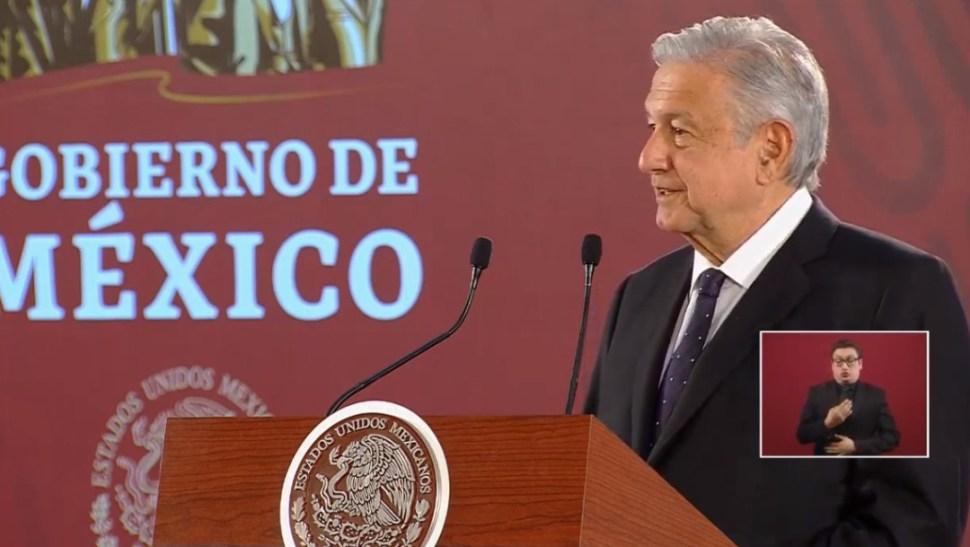Foto: López Obrador en conferencia de prensa, 15 de julio de 2019, Ciudad de México