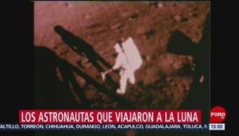 FOTO: Los astronautas que viajaron a la Luna, 20 Julio 2019