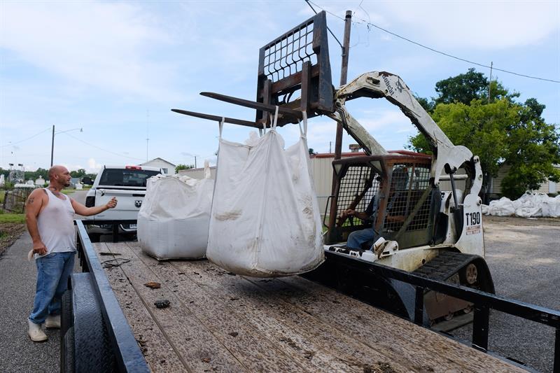 Foto Luisiana se prepara para la tormenta tropical Barry julio 11 2019