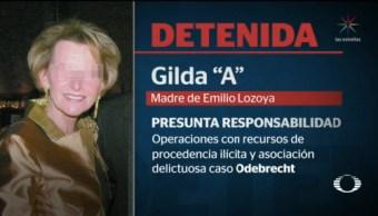 Foto: Madre Emilio Lozoya Detenida Alemania 24 Julio 2019
