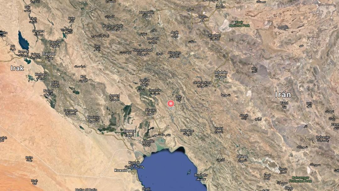 Foto: El sismo sacudió la ciudad de Masjid Soleiman, en la provincia de Khuzestan, Irán, 8 de julio de 2019
