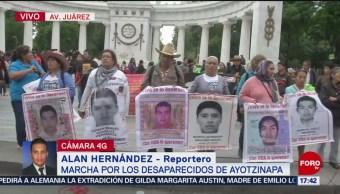 Foto: Marcha Desaparecidos Ayotzinapa Cdmx 26 Julio 2019