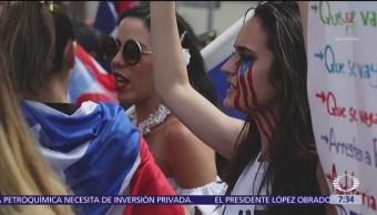 Marchas exigen que Wanda Vázquez no llegue al poder en Puerto Rico