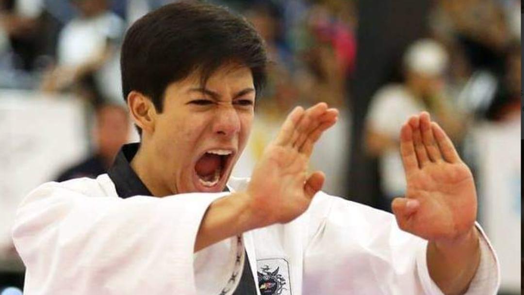 Fotos: Marco Arroyo obtuvo 7.480 puntos para obtener medalla de bronce, 27 de julio de 2019 (Twitter @CONADE)