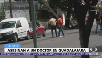 Matan a médico en Guadalajara, Jalisco