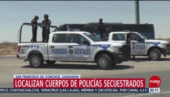 Foto: Matan Policías Tras Secuestrados Chihuahua 17 Julio 2019