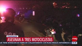 Foto: Matan Motociclistas Chihuahua 15 Julio 2019