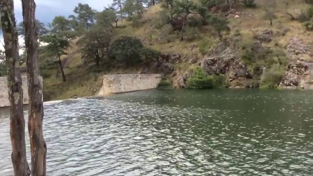 Imagen: El joven se ahogó en la presa El Boquerón, en la región de la Mixteca, 10 de julio de 2019 (YouTube)