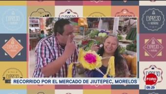 Mercado de Jiutepec, en Morelos