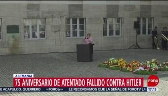 FOTO: Merkel asiste al 75 aniversario del atentado fallido contra Adolfo Hitler, 20 Julio 2019