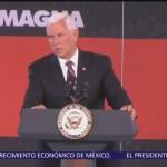 Mike Pence pide a demócratas aprobar el T-MEC